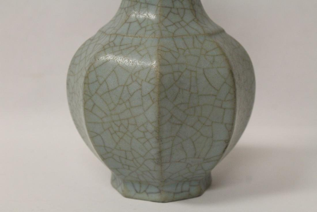 Song style crackle ware vase - 4