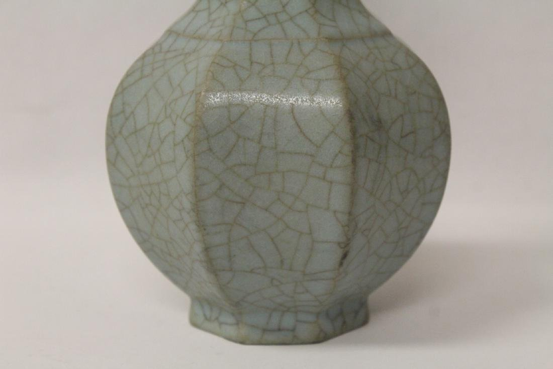 Song style crackle ware vase - 5