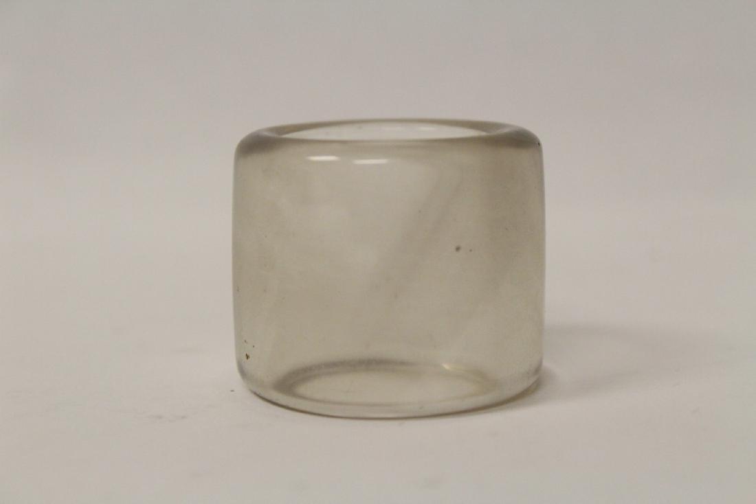 Peking glass archer's ring - 2