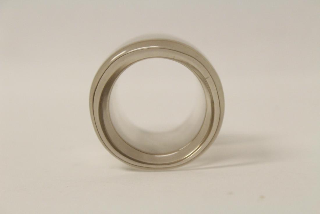 Peking glass archer's ring - 5