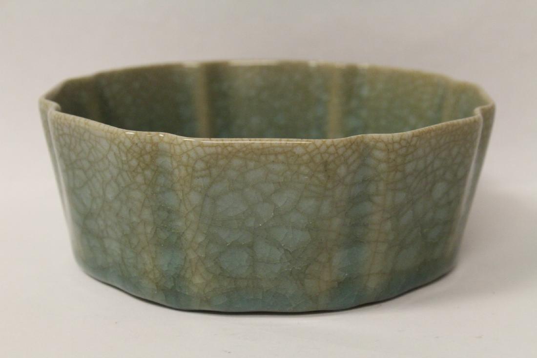 Song style celadon basin