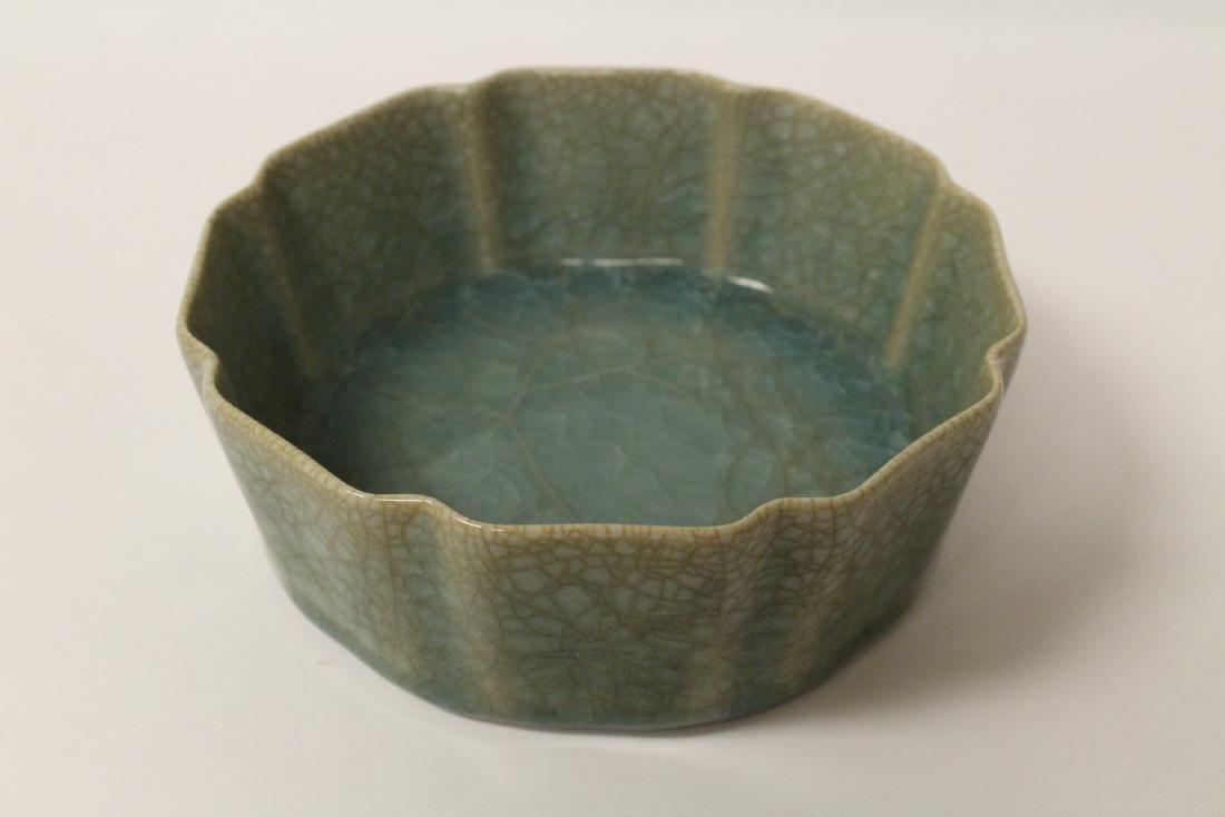Song style celadon basin - 4