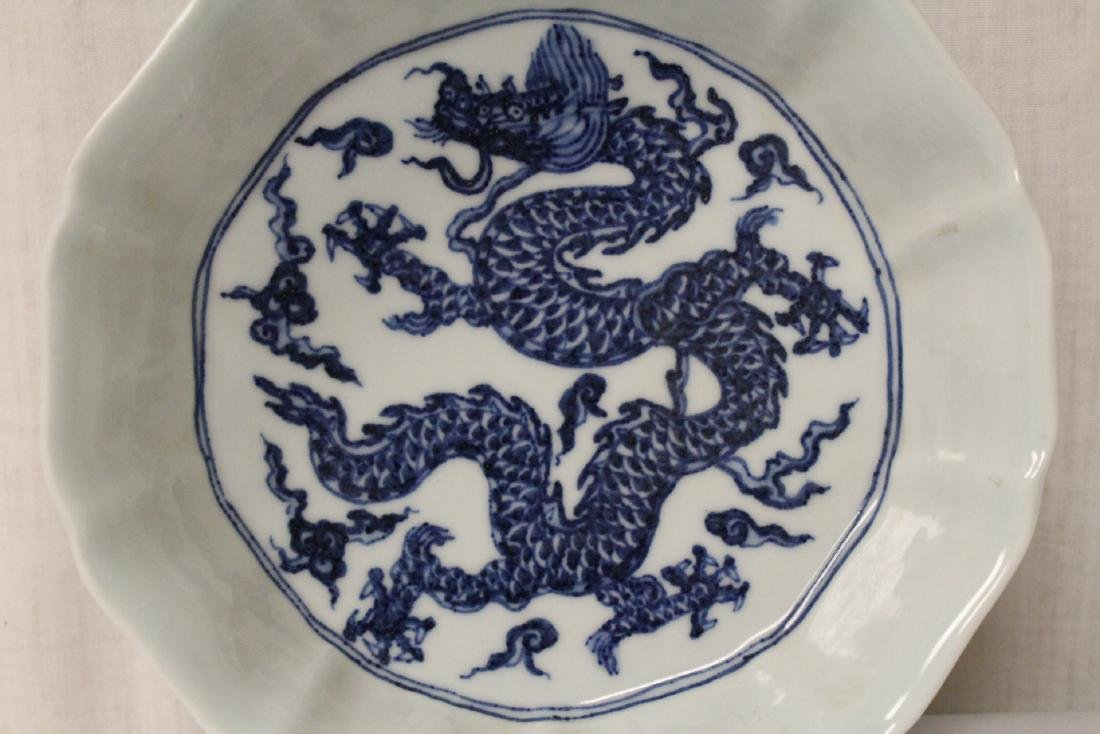 Blue and white bowl - 5