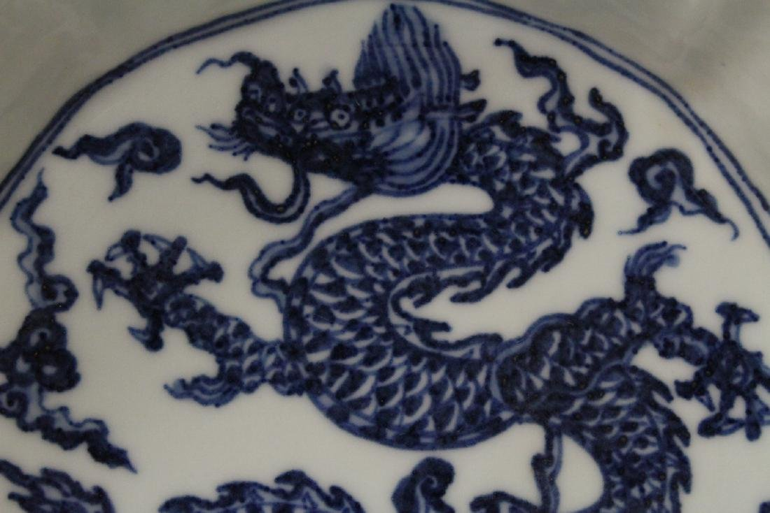 Blue and white bowl - 6