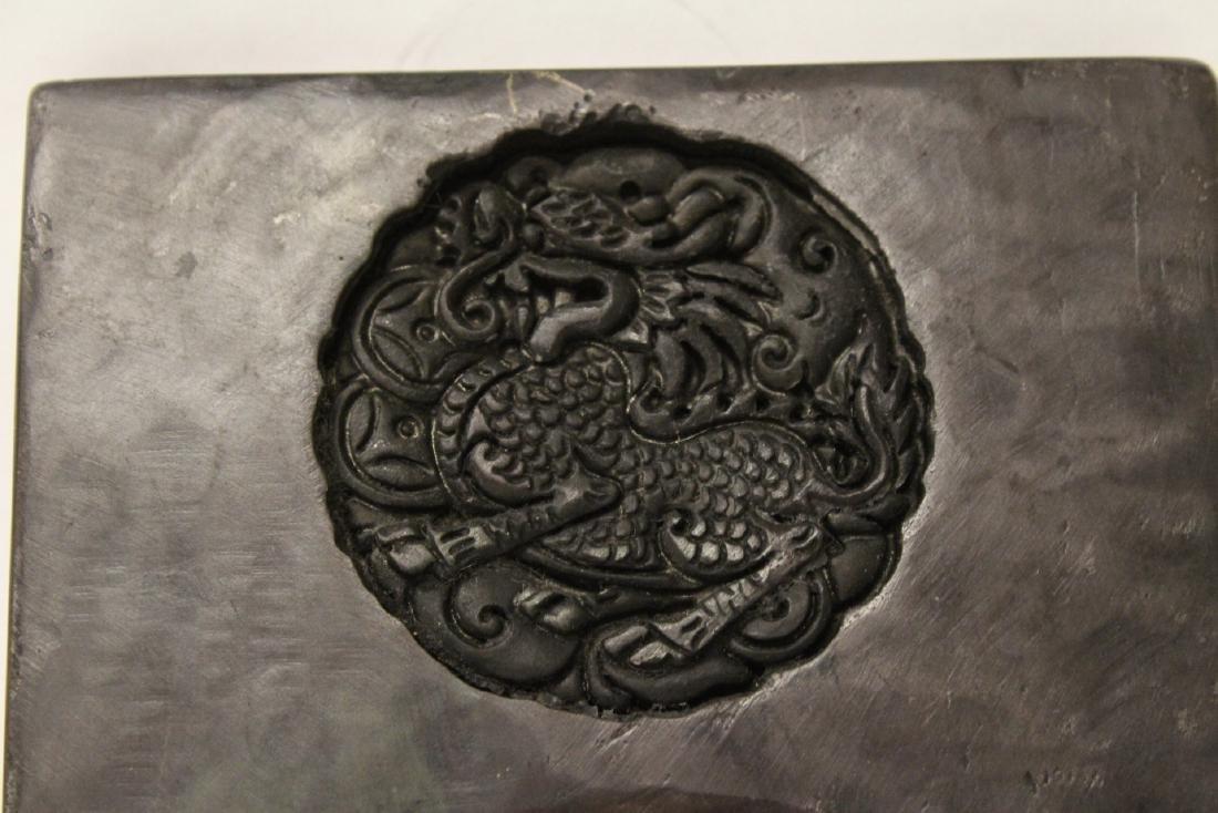 2 stone ink wells - 8