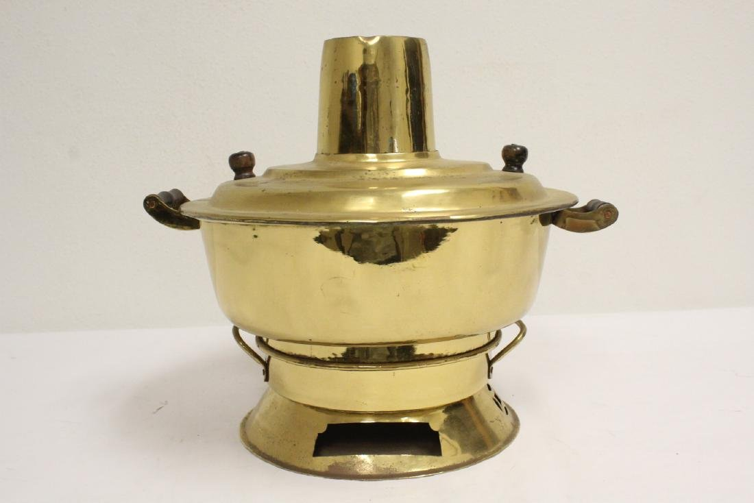 2 Chinese brass items - 7