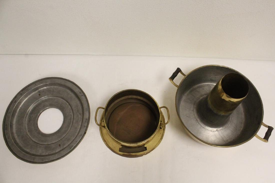 2 Chinese brass items - 9