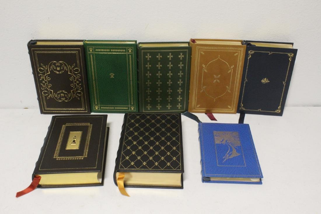 29 leather bond books - 3