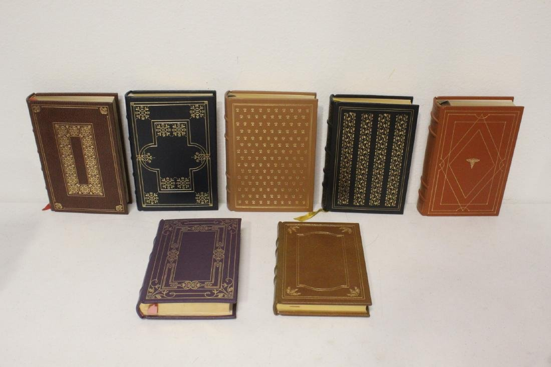 29 leather bond books - 5