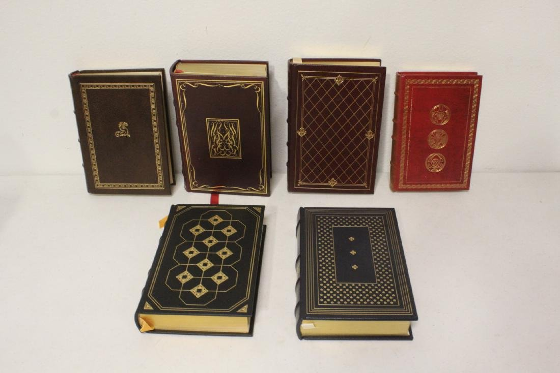 29 leather bond books - 7