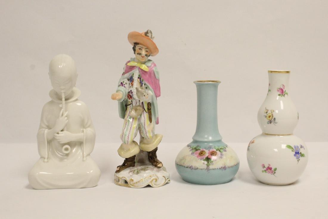 4 vintage porcelain pieces