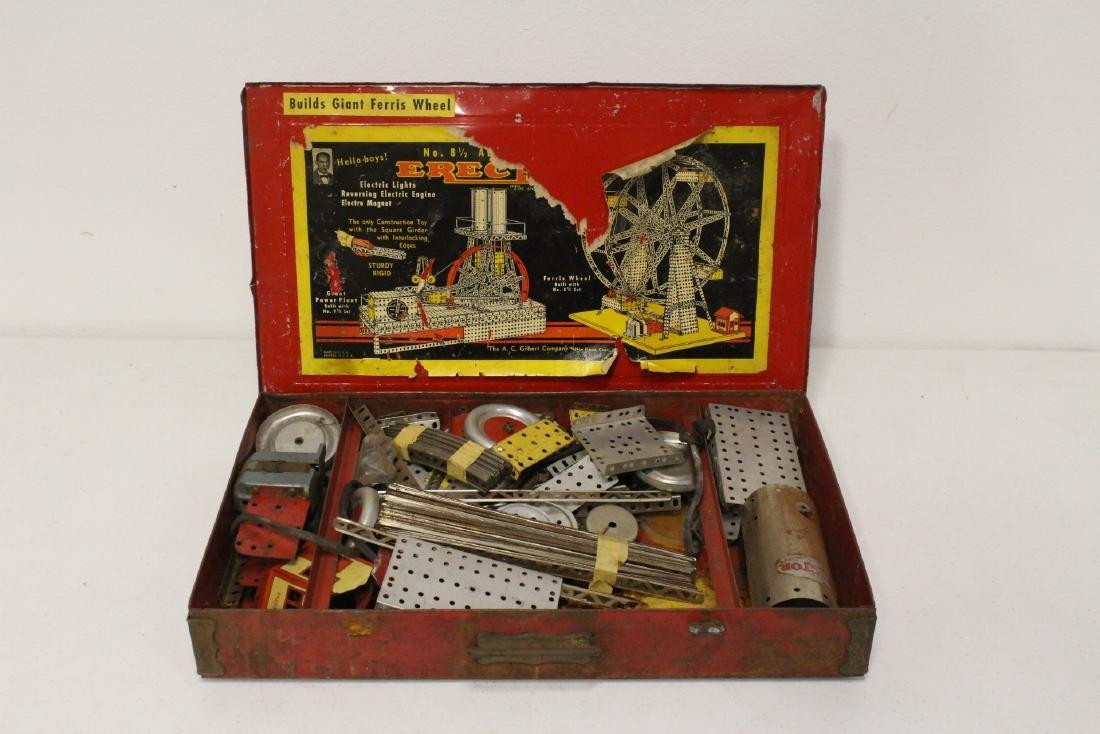 Toy erector