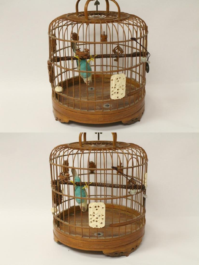 Chinese bamboo bird cage - 2