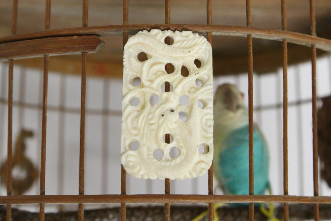 Chinese bamboo bird cage - 3