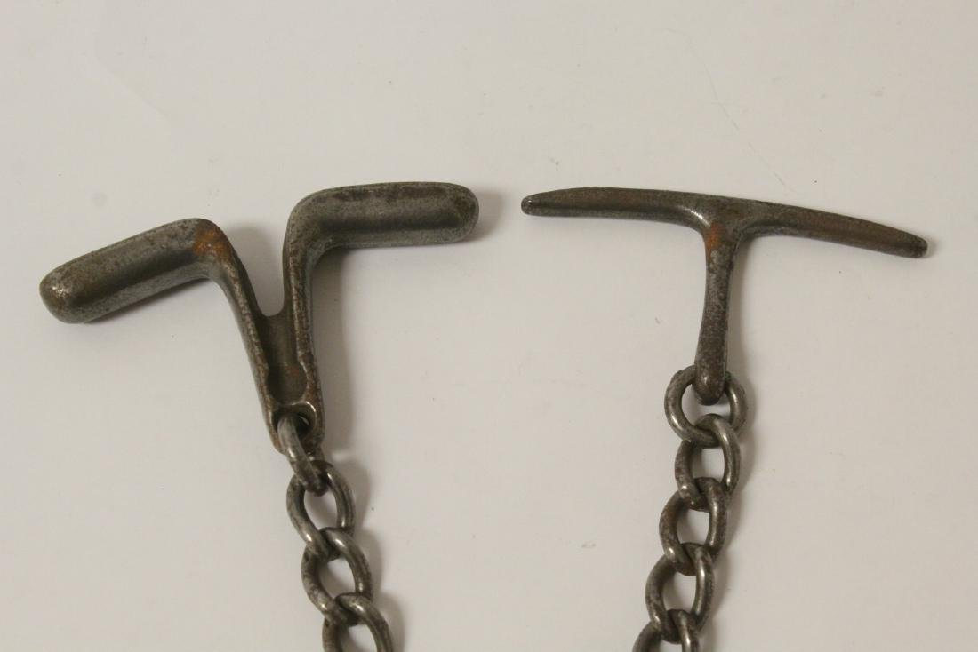 WWII Germany utensil set, a cuff, and 2 tassels - 3