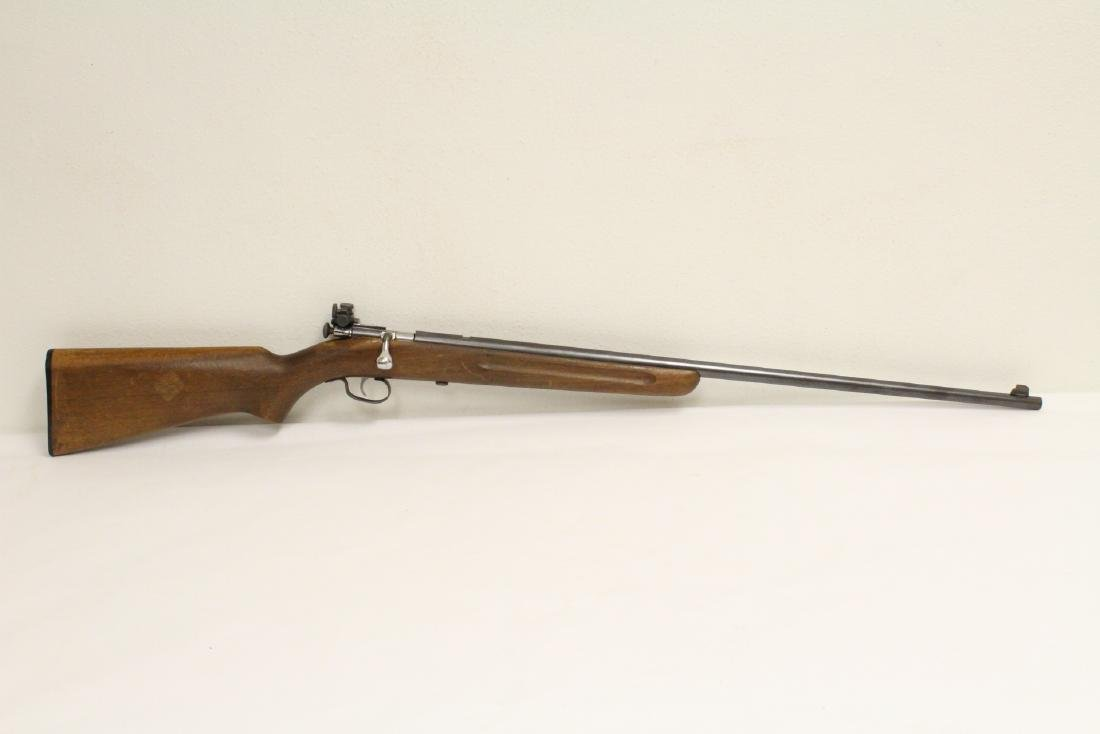 Antique Winchester rifle model 68-22 short