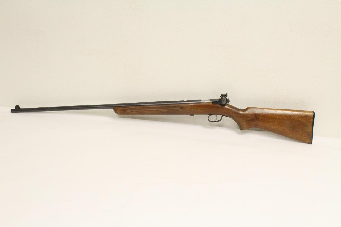 Antique Winchester rifle model 68-22 short - 2