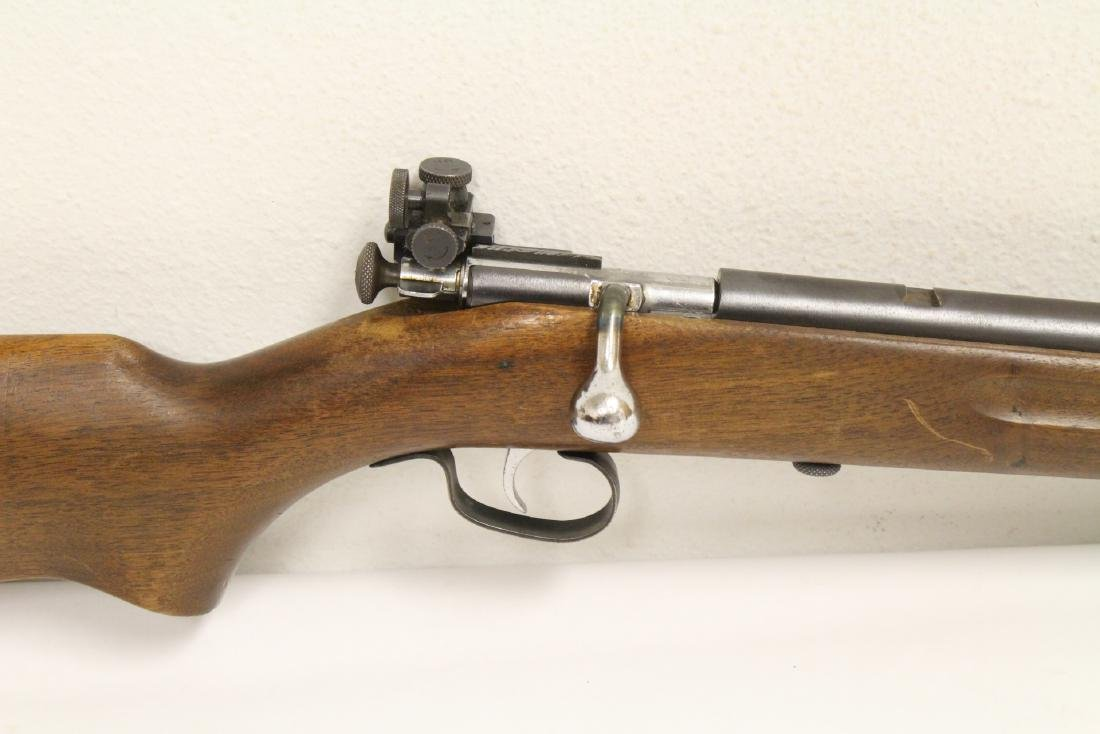 Antique Winchester rifle model 68-22 short - 5