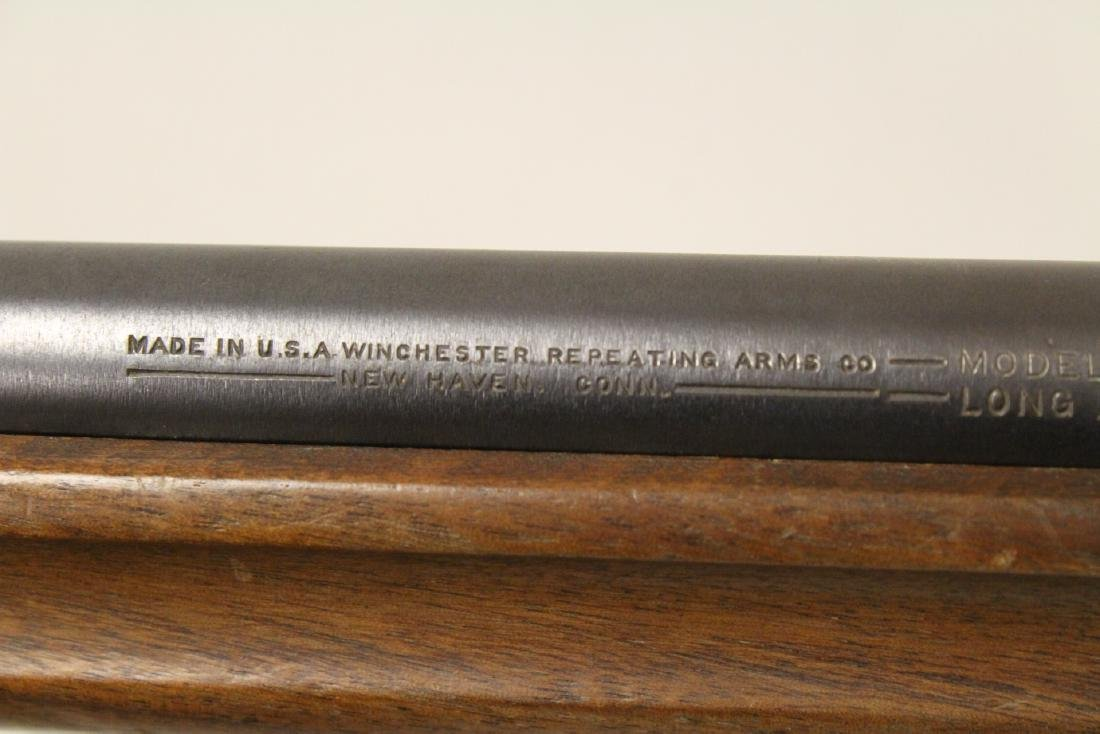 Antique Winchester rifle model 68-22 short - 9