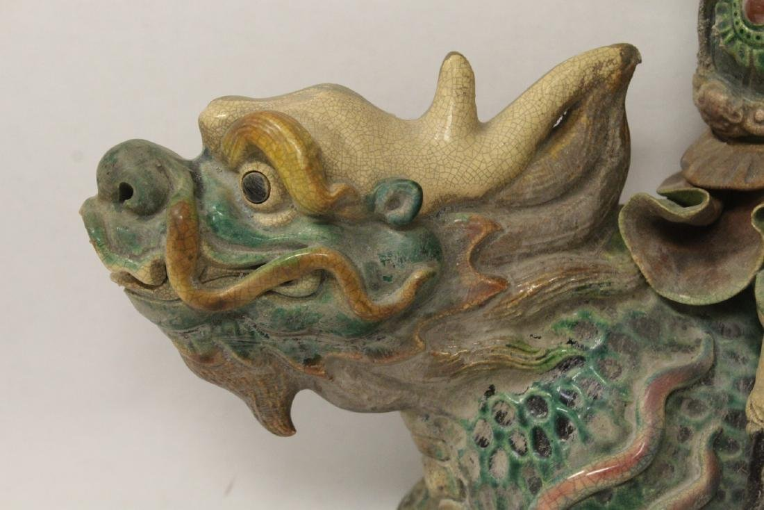 Chinese antique roof tile - 3