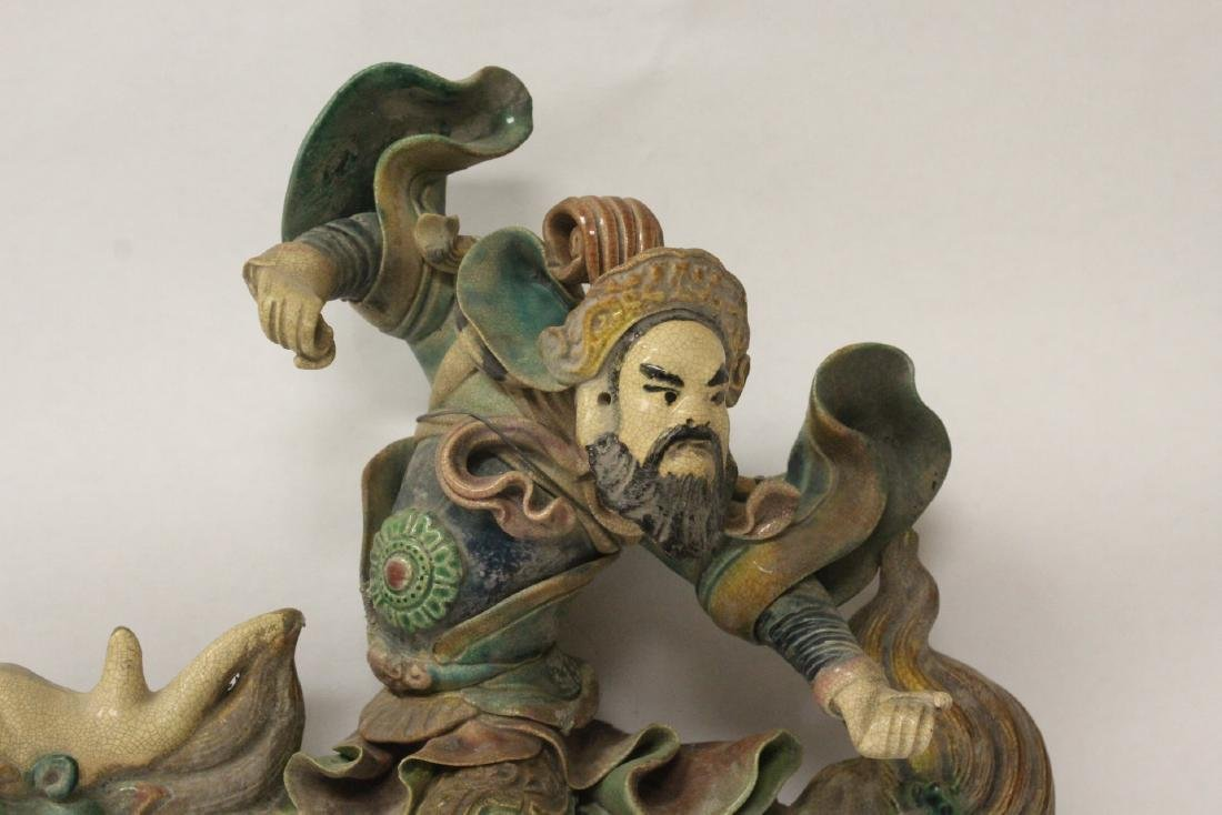 Chinese antique roof tile - 5