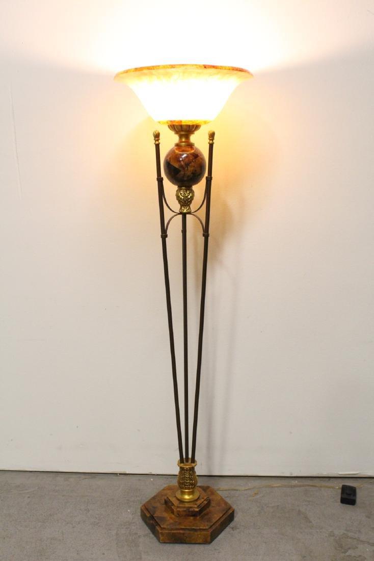 A beautiful modern design floor lamp