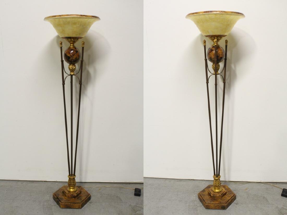 A beautiful modern design floor lamp - 2