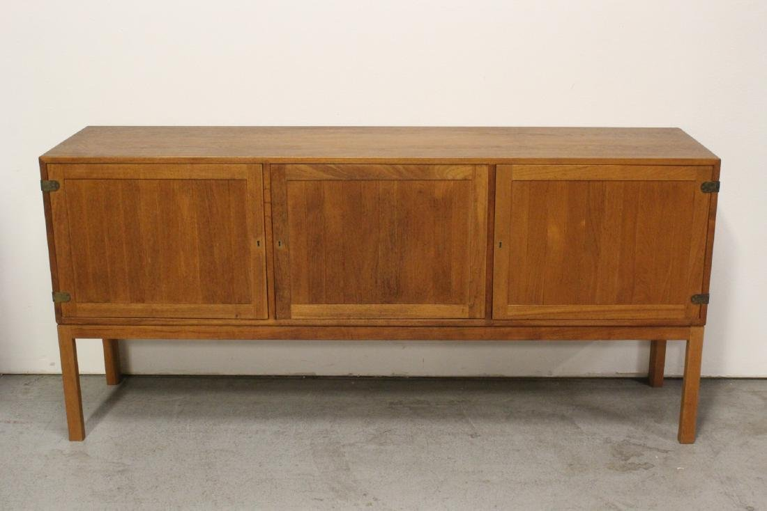 A fine 50's Danish modern teak wood buffet