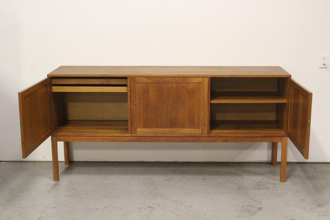 A fine 50's Danish modern teak wood buffet - 3