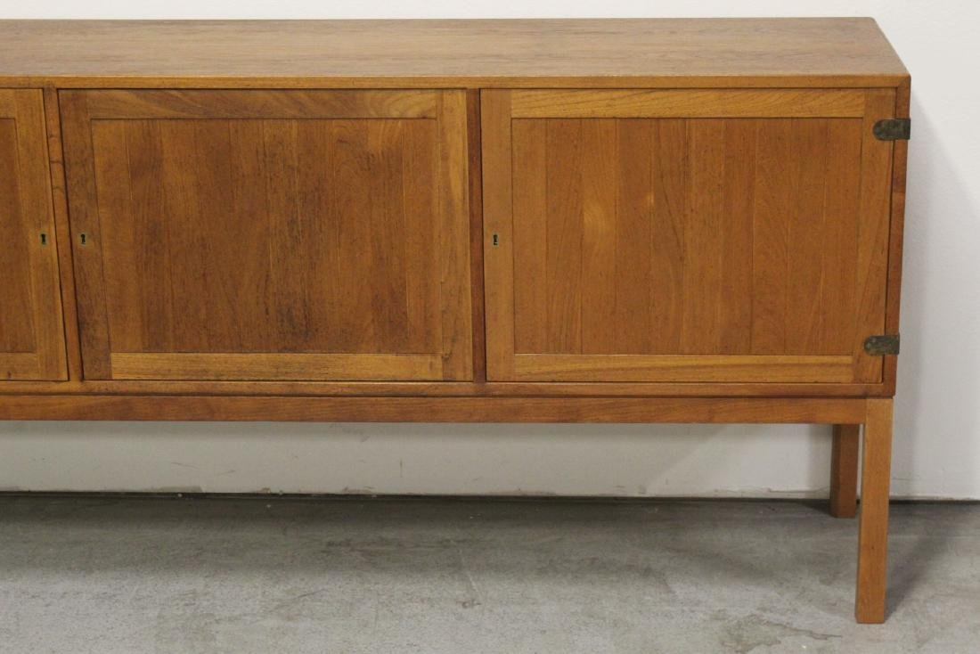 A fine 50's Danish modern teak wood buffet - 4