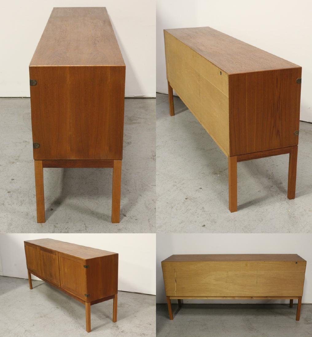 A fine 50's Danish modern teak wood buffet - 8