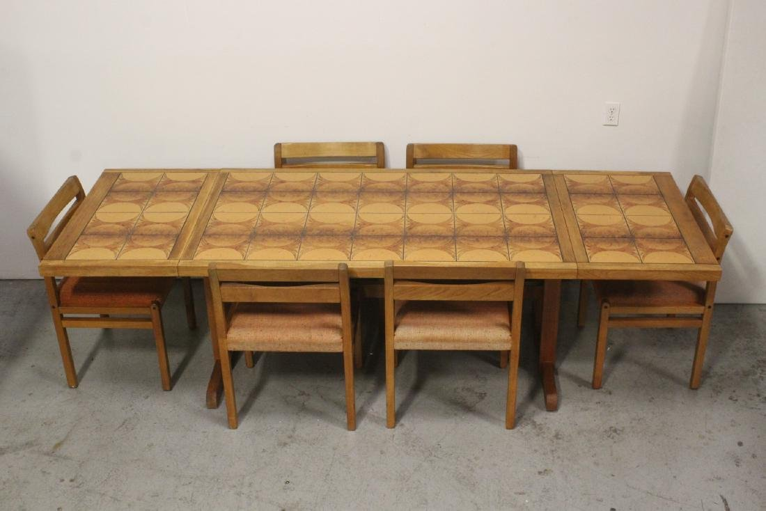 50's Danish modern dining set