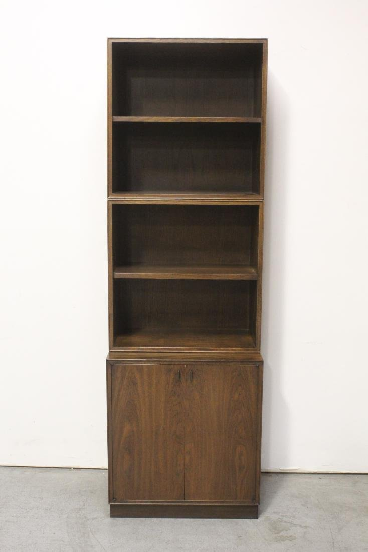 3 pieces 50's style chest on bookcase