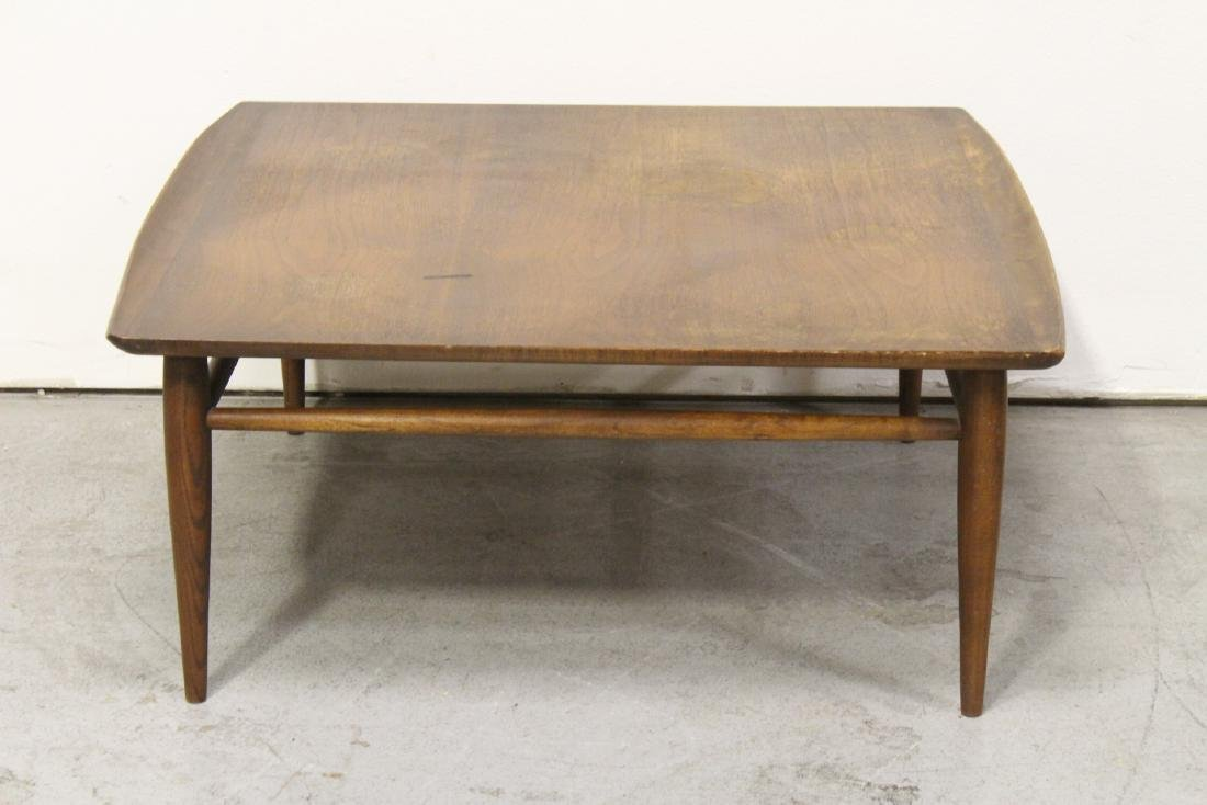 Danish modern teak wood square low table
