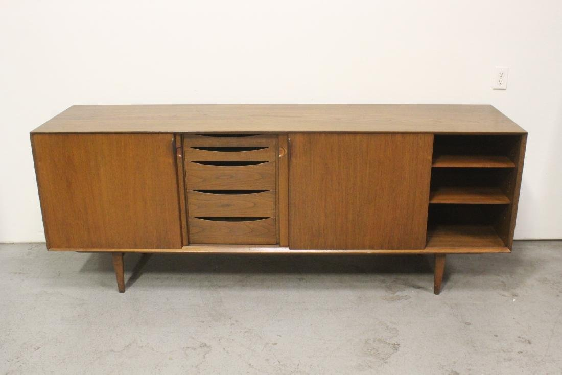 50's Danish modern teakwood sideboard - 3