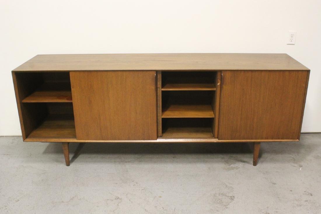 50's Danish modern teakwood sideboard - 4