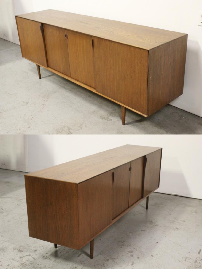 50's Danish modern teakwood sideboard - 7