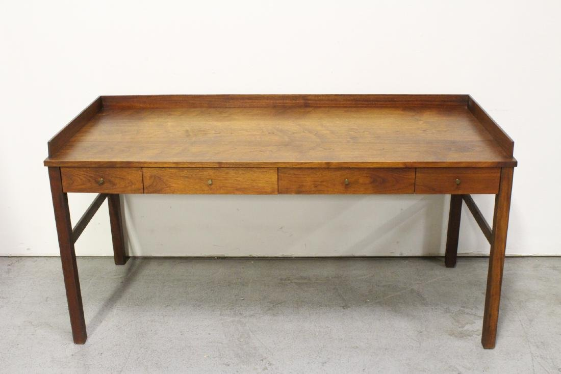 A beautiful Danish modern teak wood desk