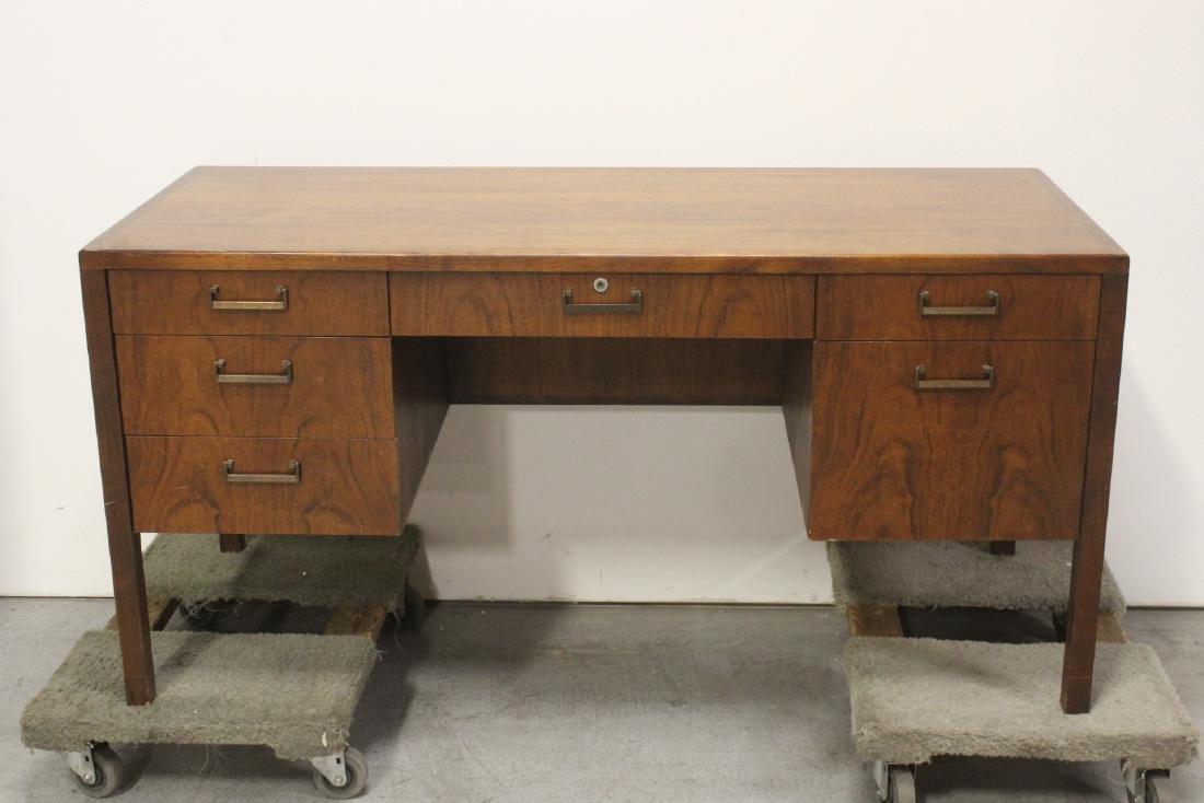50's teakwood desk