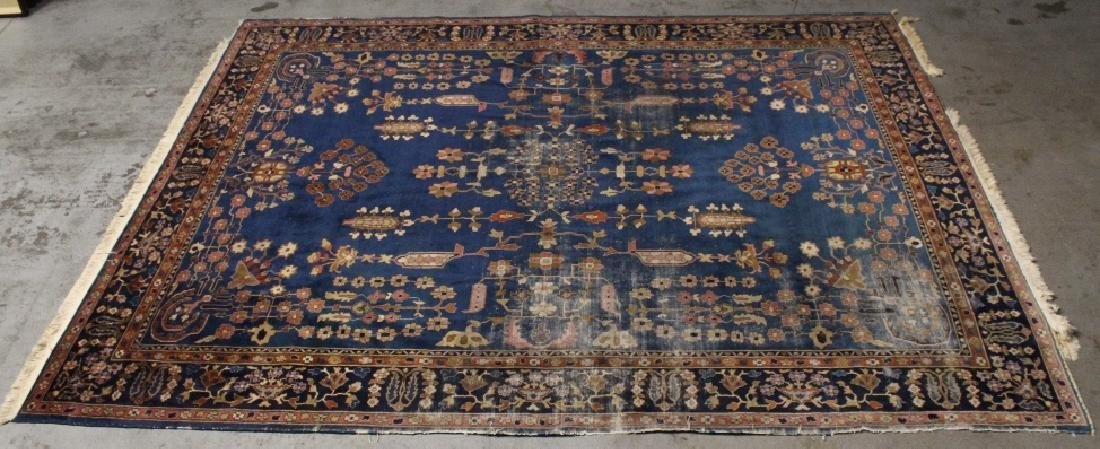 Antique room size Persian rug