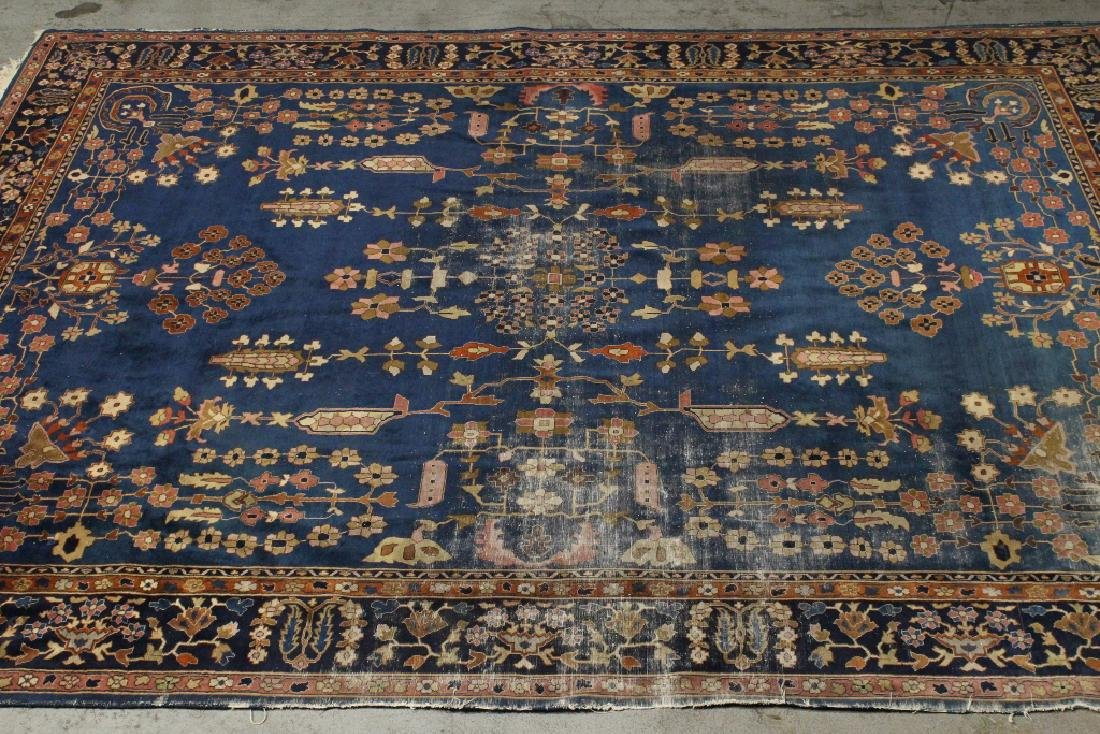 Antique room size Persian rug - 2