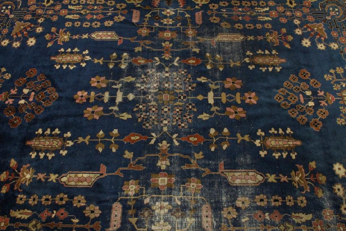 Antique room size Persian rug - 3