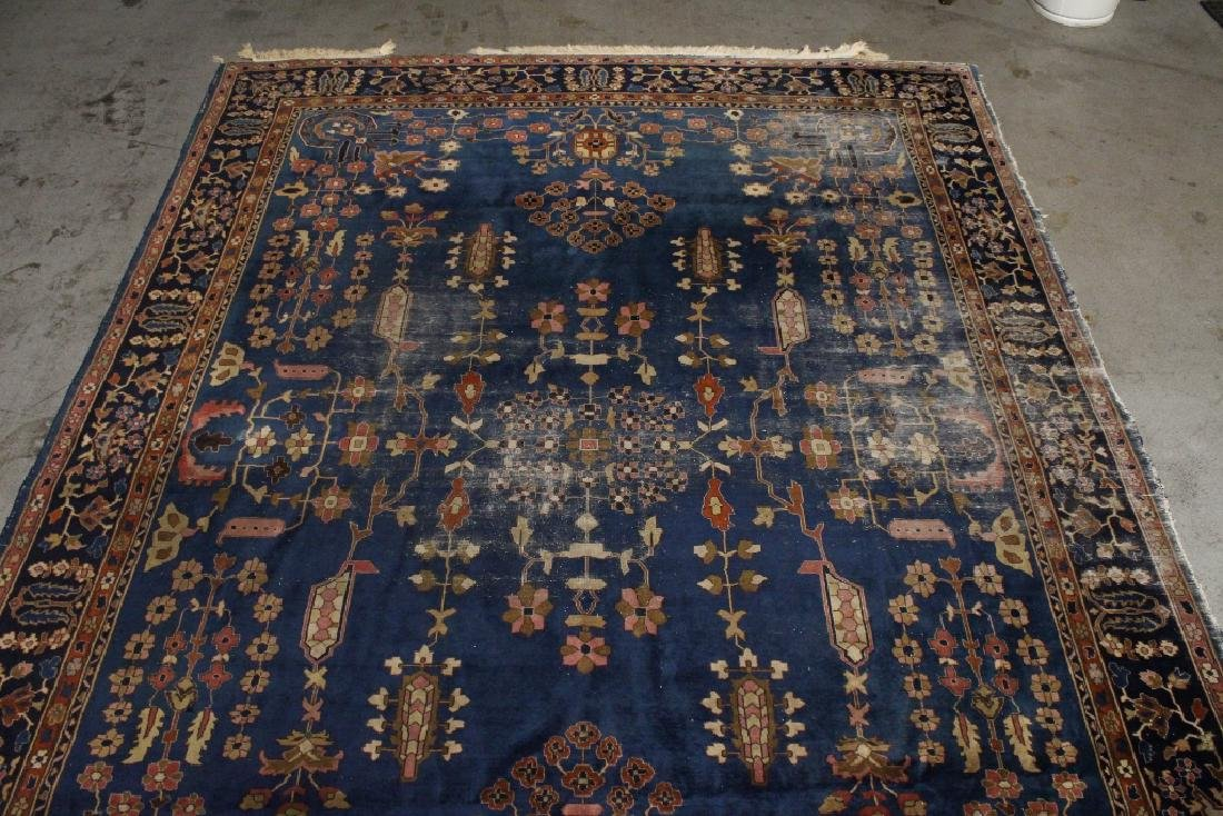 Antique room size Persian rug - 6