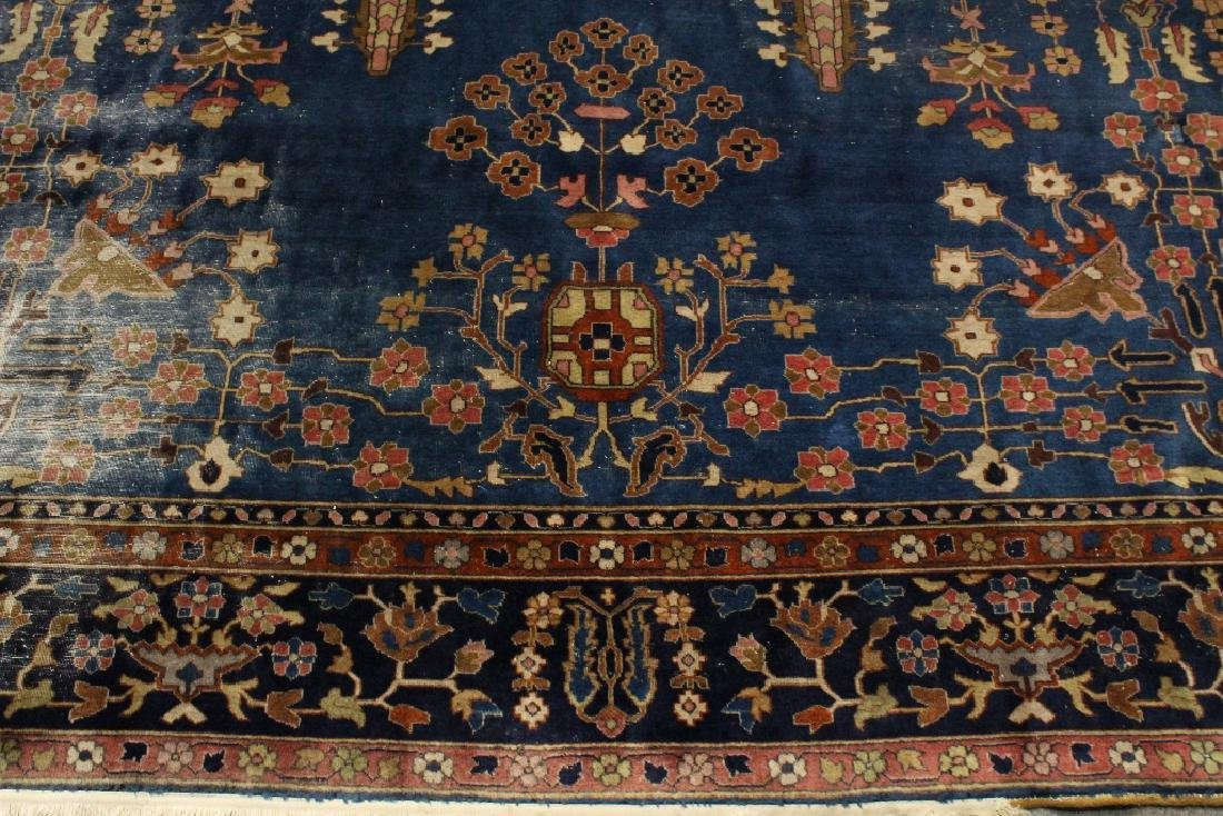 Antique room size Persian rug - 7