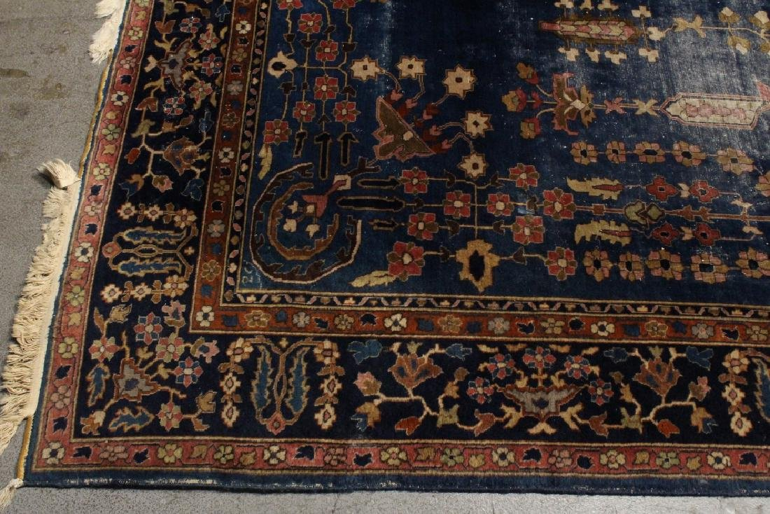 Antique room size Persian rug - 8