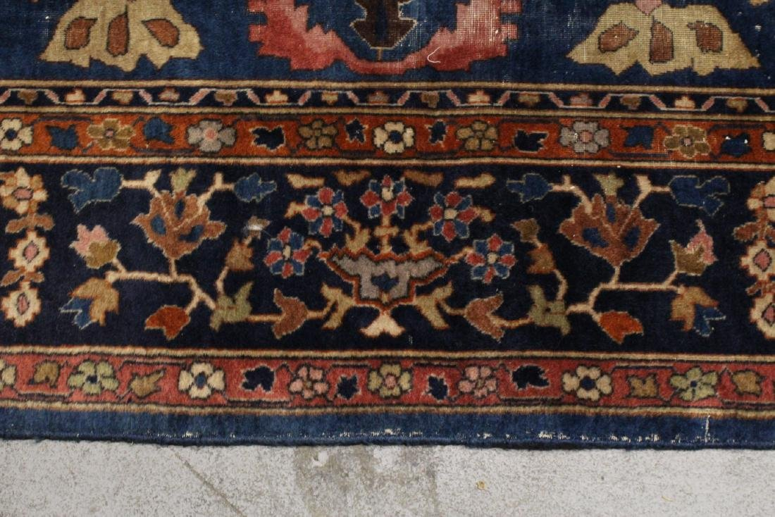 Antique room size Persian rug - 9