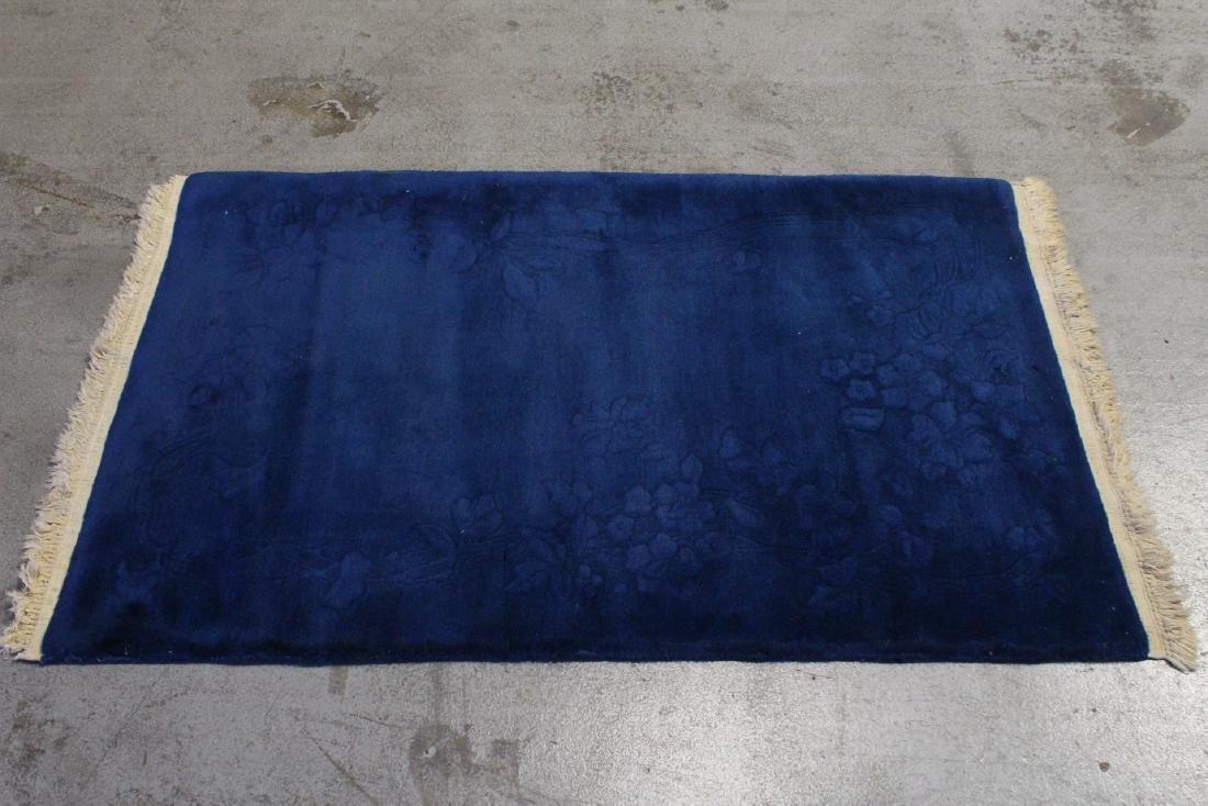 Chinese blue background Nichols rug
