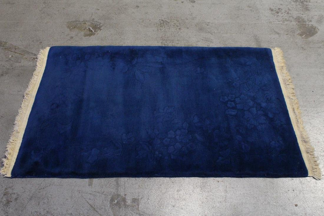 Chinese blue background Nichols rug