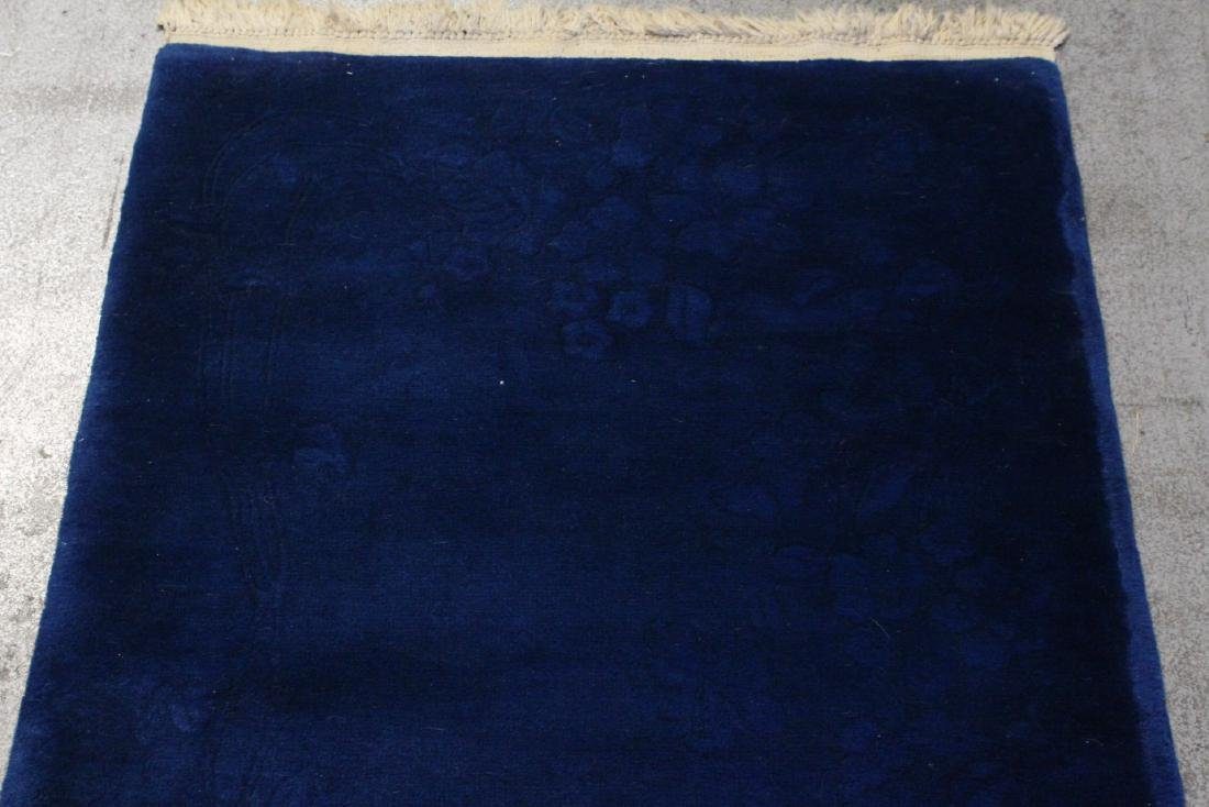 Chinese blue background Nichols rug - 2