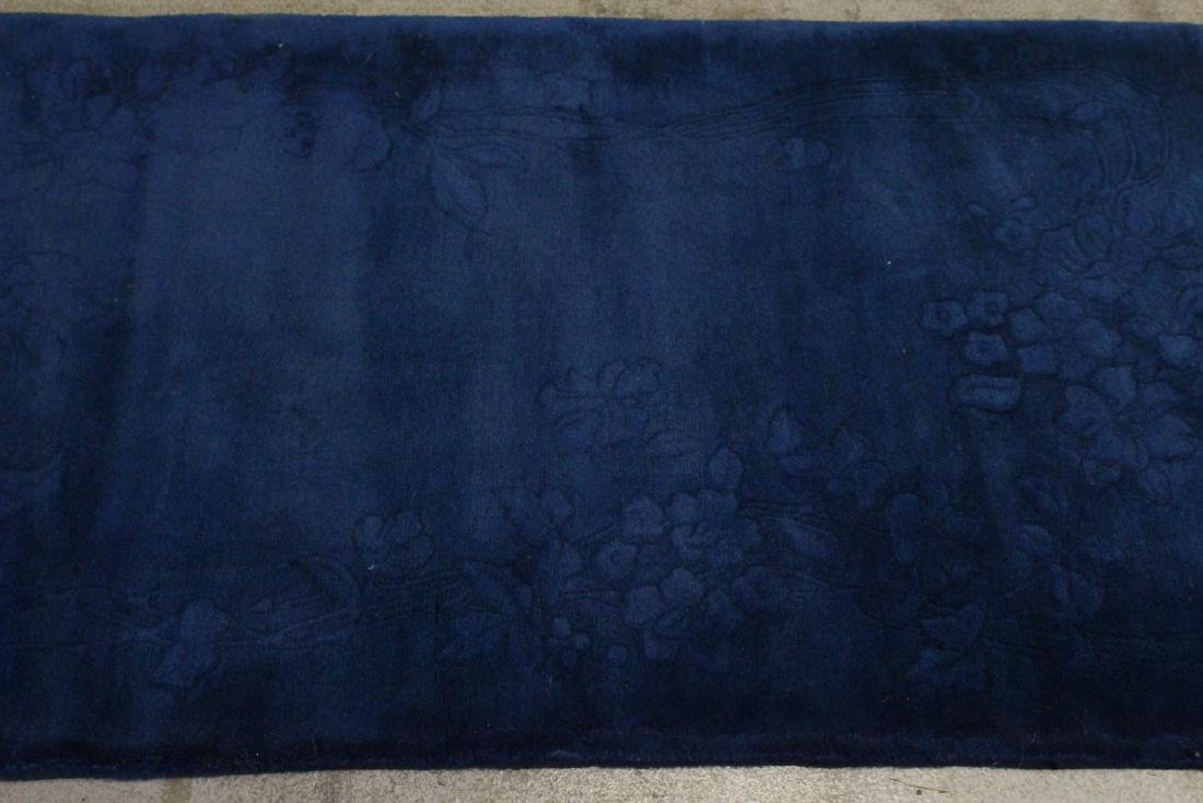 Chinese blue background Nichols rug - 6